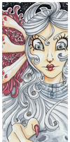 Lady of the Moon by Doink-Doink