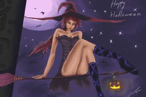 yourichi halloween by he1lfire