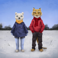 Bright and Cold by Pelboy