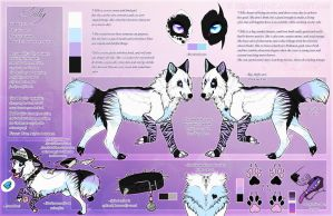 .: Silly Official Sheet Ref 2015 :. by SillyTheWolf