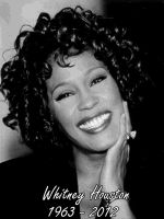 RIP Whitney Houston by osundu
