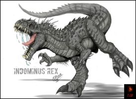 The Indominus Rex by Gabe-TKE