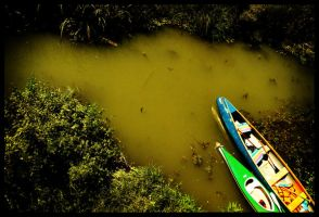canoes by siby