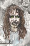 Regan MacNeil The Exorcist by ChrisOzFulton
