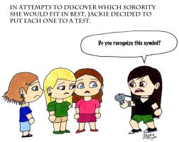 Socially Awkward:  Sorority by Xejicka