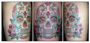 Sugar Skull by johndevilman