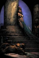 Egyptian Queen by EagleGosselin