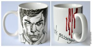 Dexter Morgan: My Dark Passenger Mug by smist