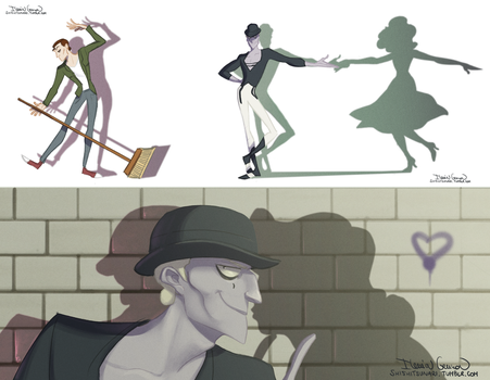The Mime - Miraculous Ladybug Fanart by N-A-R-I