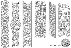 Flash - Celtic Bands 1 Line by sidneyeileen