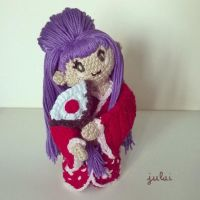 Amigurumi Japan Doll by Tofe-lai