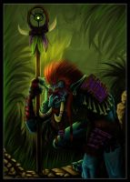 Jungle Troll by JayWestcott