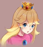 Peach by Moochirin