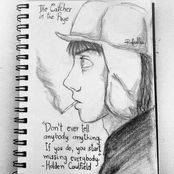 The Catcher in the Rye by raffysparrow