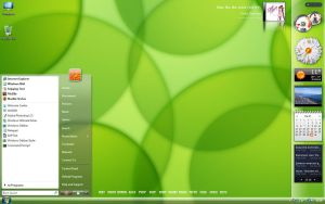 my glossy desktop - April by neodesktop