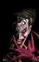 Joker by Mike Deodato, Jr. by StephenSchaffer