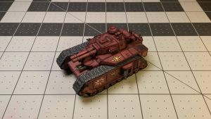 Warhammer 40K - Heavy Battletank (Blood Pakt) by Dented-Rick