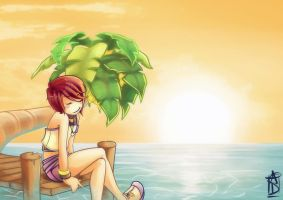 Kairi is adorable sometimes. by spikyO