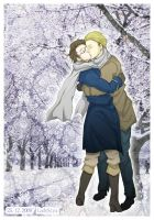 APH +Winter Kiss+ by ladyStyx