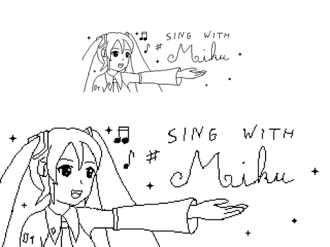 Sing with Miku by Floflo81