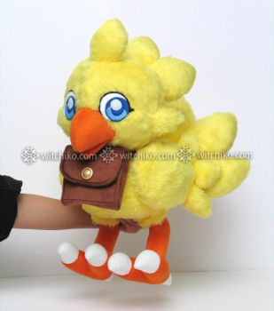 Chocobo with pouch:::::: by Witchiko