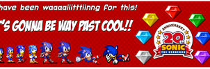 Sonic's Sprite Years by Shadow-Dinosaur