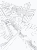 3 point perspective by turnbuckle