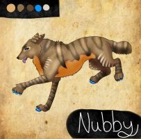 Nubby Reference sheet by Tontora