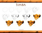 How to Draw Simba Cub by Emo-Hellion