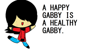 HAPPY GABBY by IceWizardCheryl