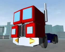 Optimus Prime - Rolling Along by waterslayer