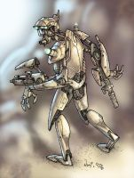Robot Colored by V3dd3rMan by V3dd3rMan