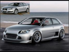 Audi A3 Virtual Tuning by GTStudio