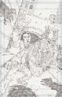 """""""WH"""" Cover Pencils by KurtBelcher1"""