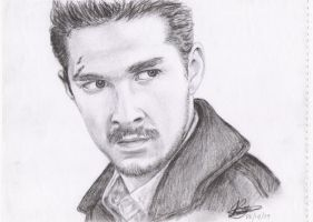 shia labeouf sketch by rayjaurigue