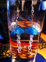 Blue Jellyfish by Sigilien