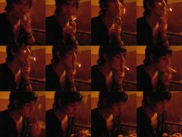 smoking in stop-motion by fandina