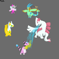 Pokemon Soul Silver Team by thisisspartacat1230