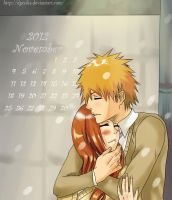 IchiHime - November 2012 by Dgesika