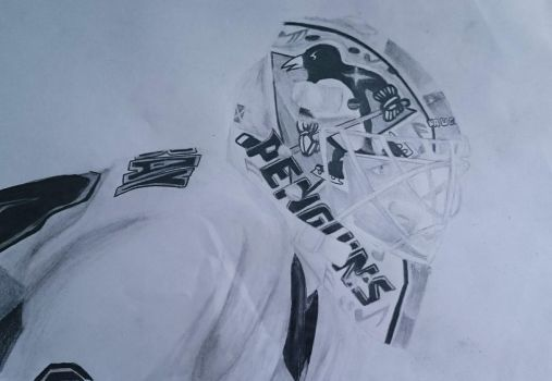 Matt Murray - Pittsburgh Penguins by vivismiley