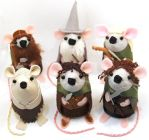 Lord of the Rings Mice by The-House-of-Mouse