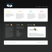 Eyesee graphics website FRONT by webgraphix