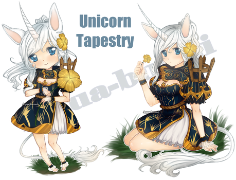 The Unicorn Tapestry Auction (Closed) by AQUA-Bunni