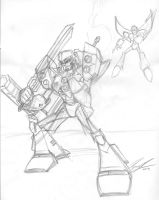 WIP - Megatron vs Starscream by NewEraOutlaw