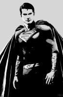 Superman Contrast by NBDigitalArt