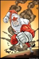 CAPTAIN CANUCK ART CONTEST by 2Ajoe