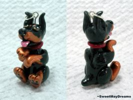 Doberman Charm by SweetMayDreams