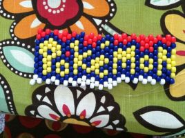 pokemon kandi cuff by That1Fan