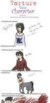 Character Torture Meme- Sybil by Captain-Savvy