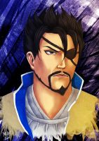 Blind Xiahou by Grace-Zed